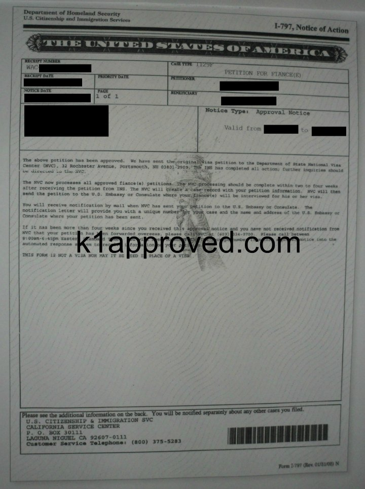 Guide To Filling Out The K 1 Fiance Visa